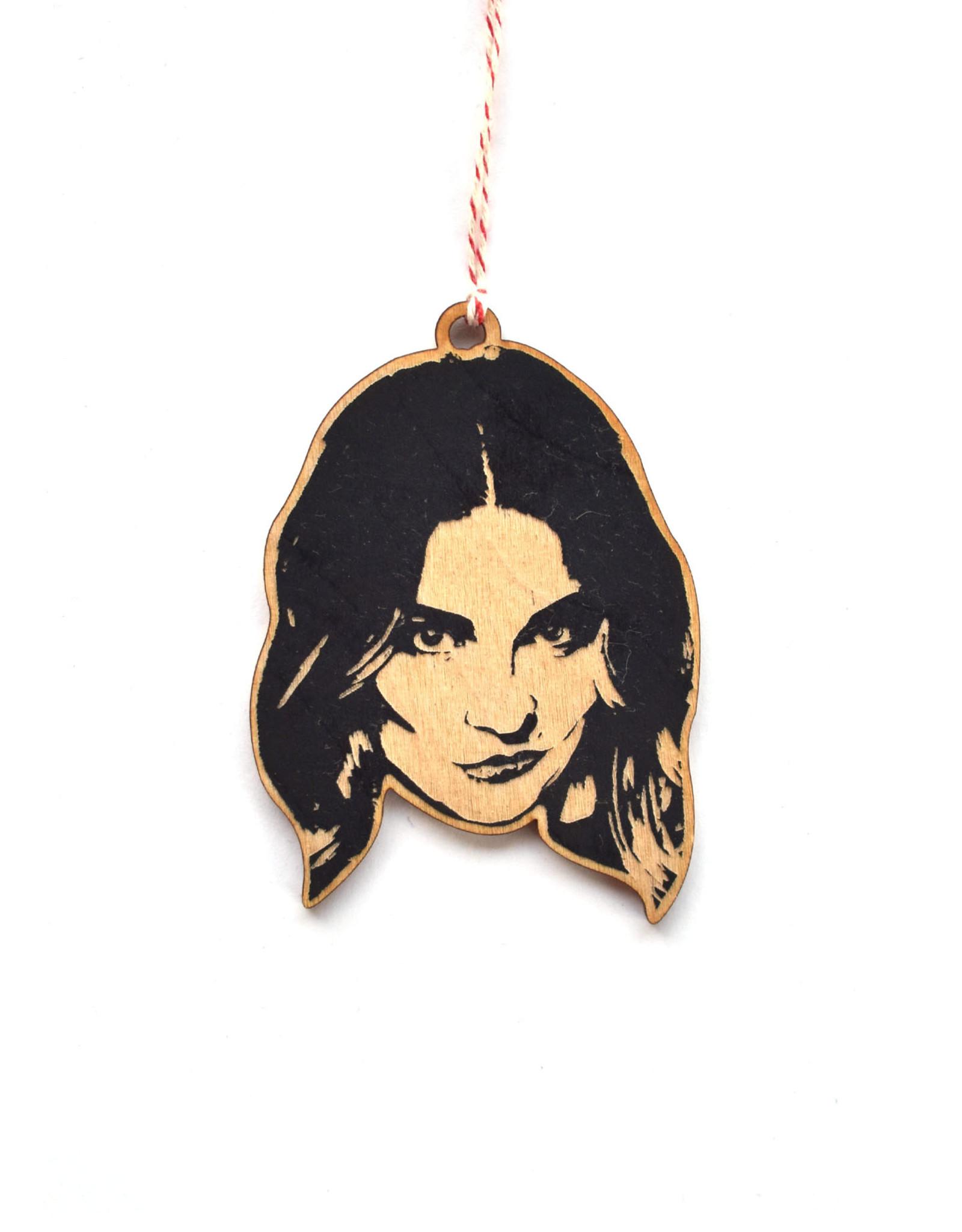 Alexis Schitt's Creek Wooden Ornament
