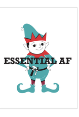 Essential AF Elf Greeting Card