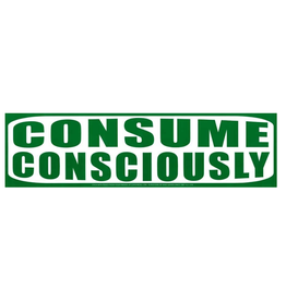 Consume Consciously Sticker