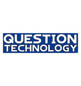 Question Technology Sticker