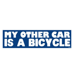 My Other Car Is a Bicycle Sticker