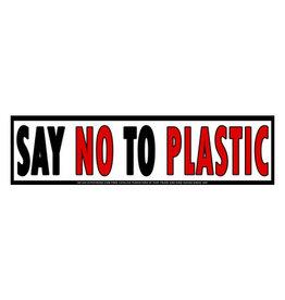Say No To Plastic Sticker