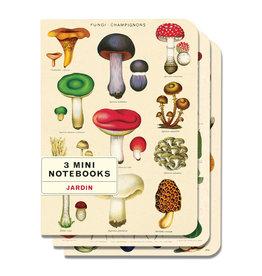 Mini Le Jardin Notebooks Set of 3