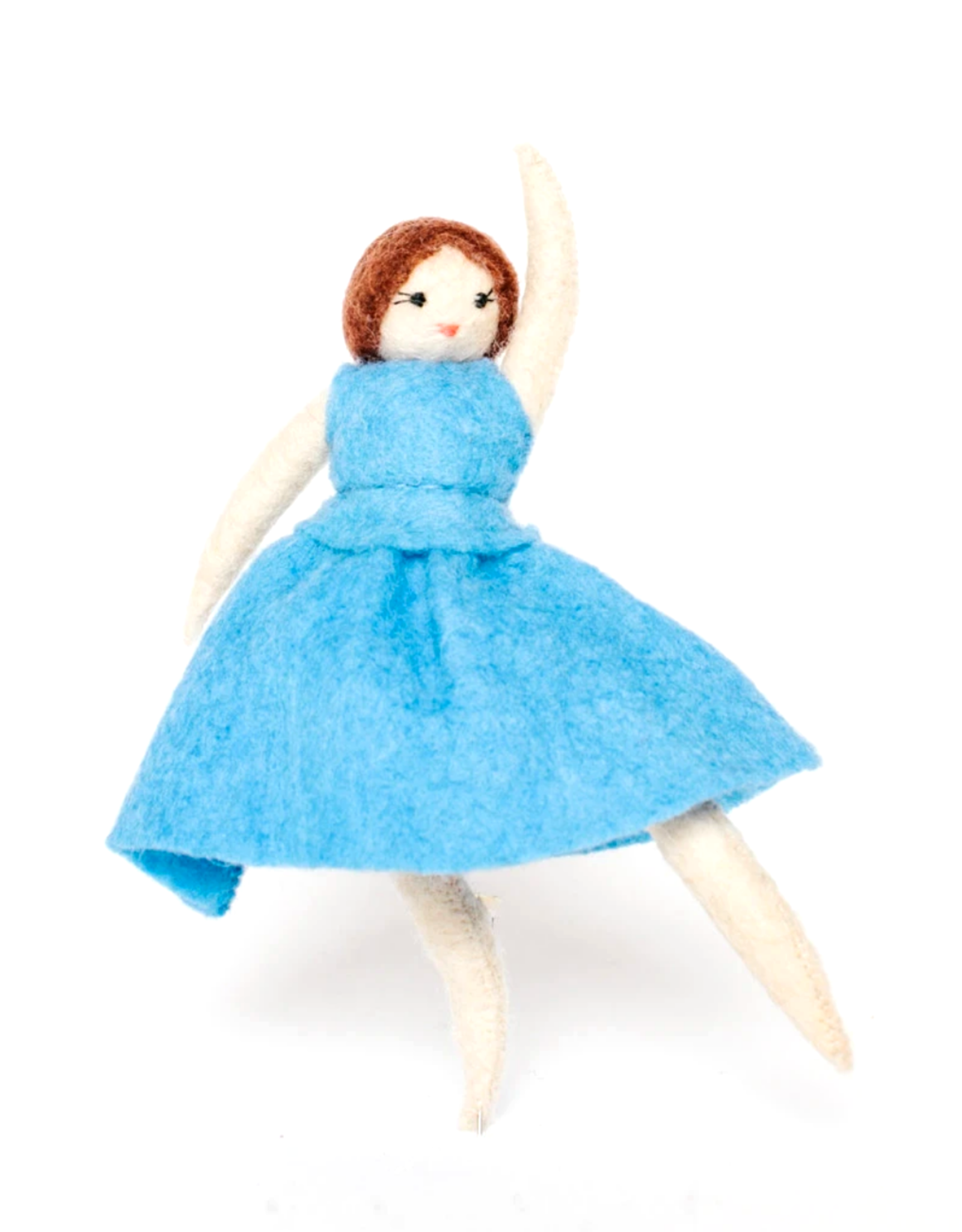 Blue Dress Ballerina Ornament