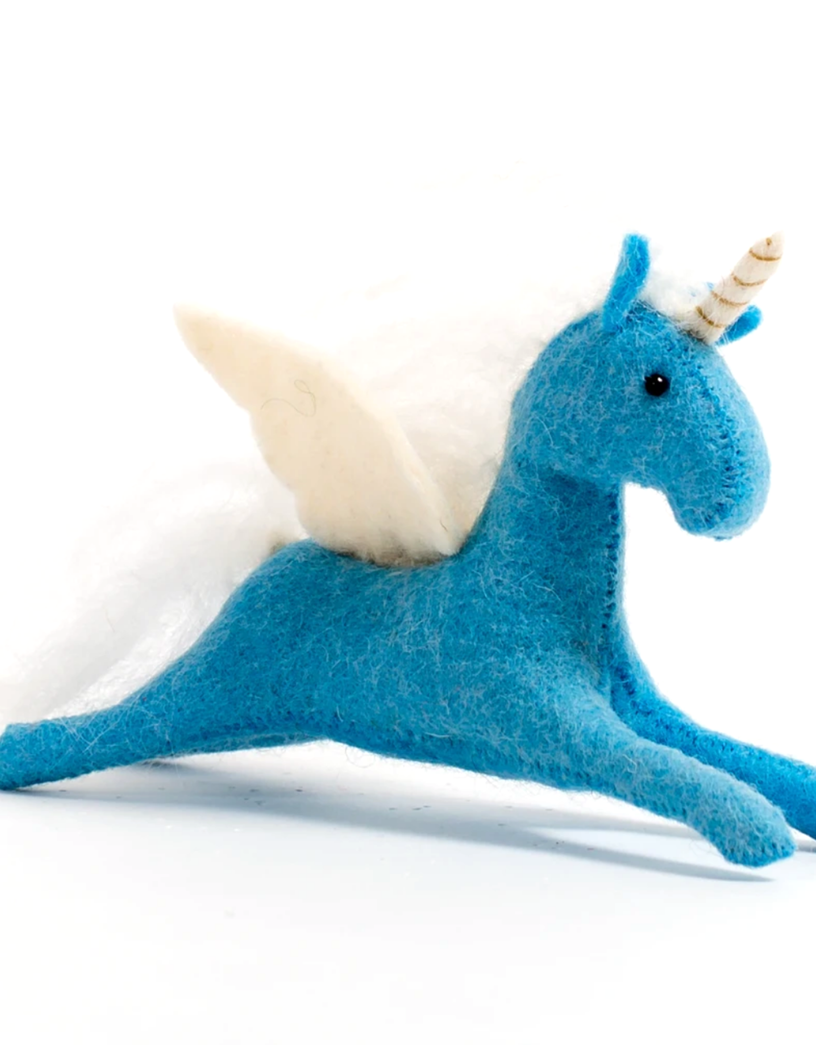 Blue Unicorn Ornament