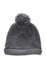 Simplistic Jane Knit Hat - Charcoal