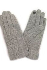 Cable Knit Touchscreen Gloves (2 colors!)