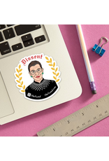 Dissent RBG Supreme Sticker