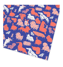 Dogs Wrapping Paper (2 Sheets)