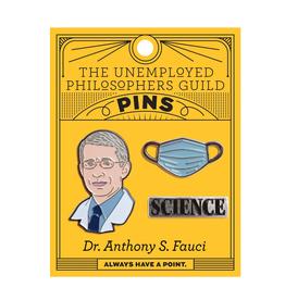 Dr. Anthony Fauci & Mask Pin Set