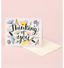 Thinking of You Poppies Greeting Card