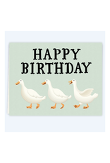 Happy Birthday Ducks Greeting Card