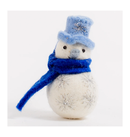 Winter's Star Snowman Ornament