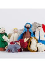 Yurt Nativity Set