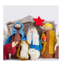 Yurt Nativity Set