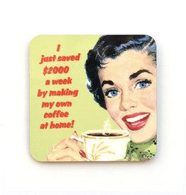 I Just Saved $2000 a Week Making My Own Coffee Coaster (cork)