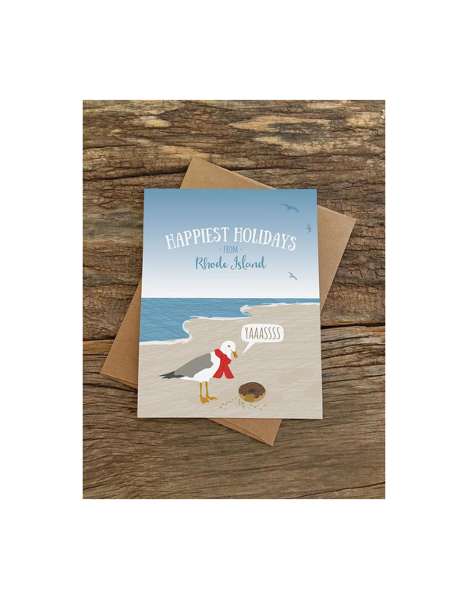 Seagull Donut RI Boxed Greeting Cards