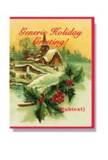 Generic Holiday Card Boxed Set