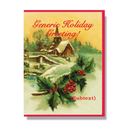 Generic Holiday Card Boxed Set