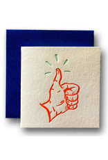 Thumbs Up Tiny Card