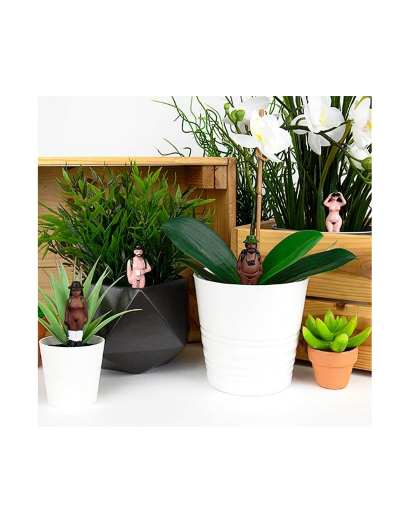 Naked Ramblers Planter Decor