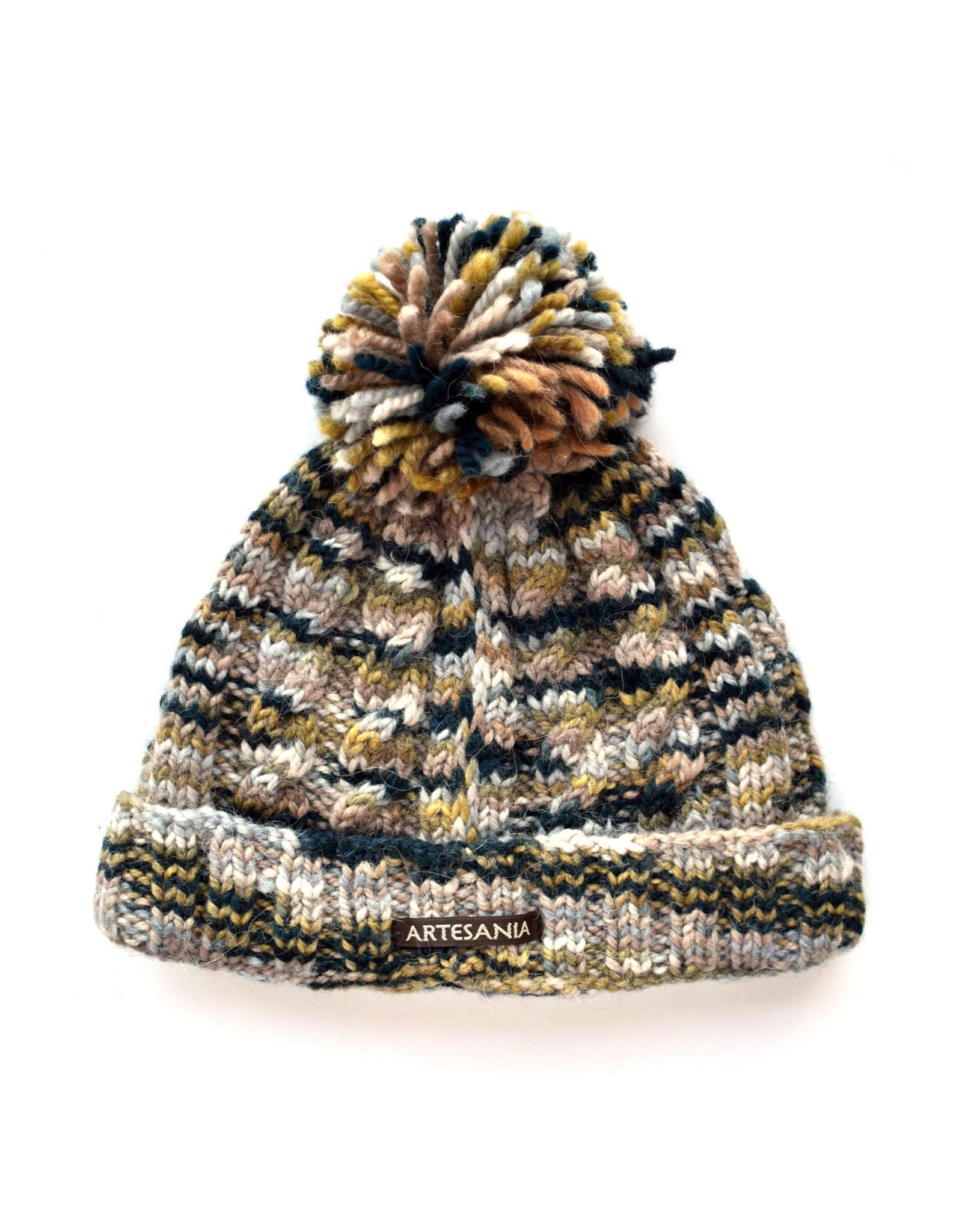 Artesania Speckle Knit Hat