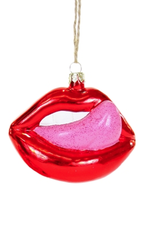 Licking Lips Ornament