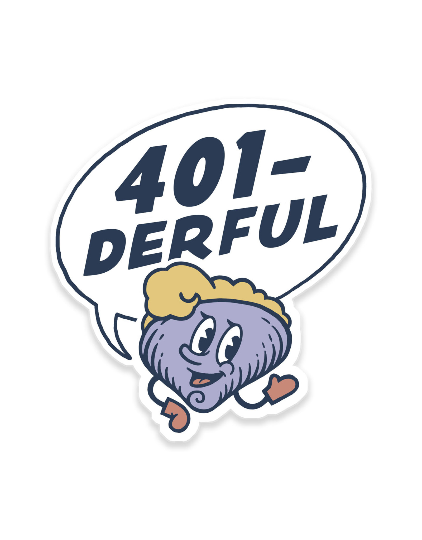 401-derful Clancy Sticker