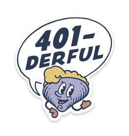 401-derful Clancy Sticker