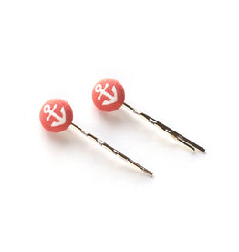 Red Anchor Hairpins