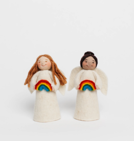 Angel Gift Ornament - Rainbow (Assorted)