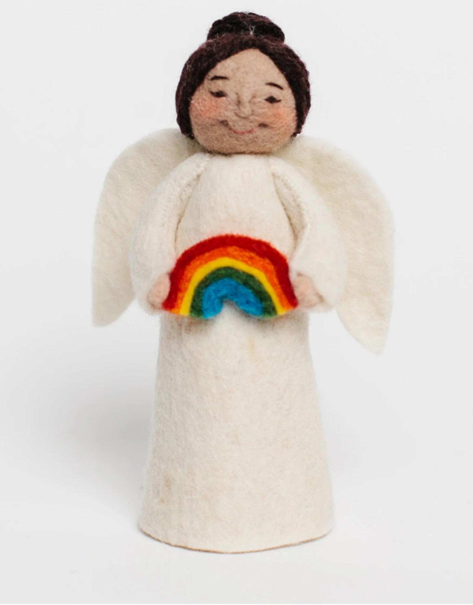 Angel Gift Ornament - Rainbow (Assorted)