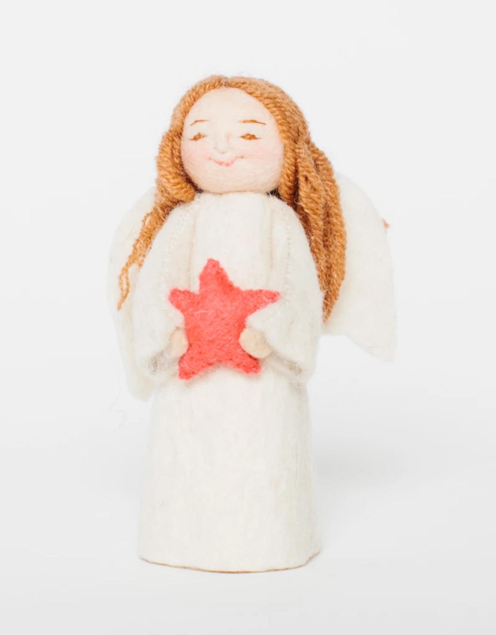 Angel Gift Ornament - Shining Star