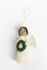 Angel Gift Ornament - Holiday Joys (Wreath)