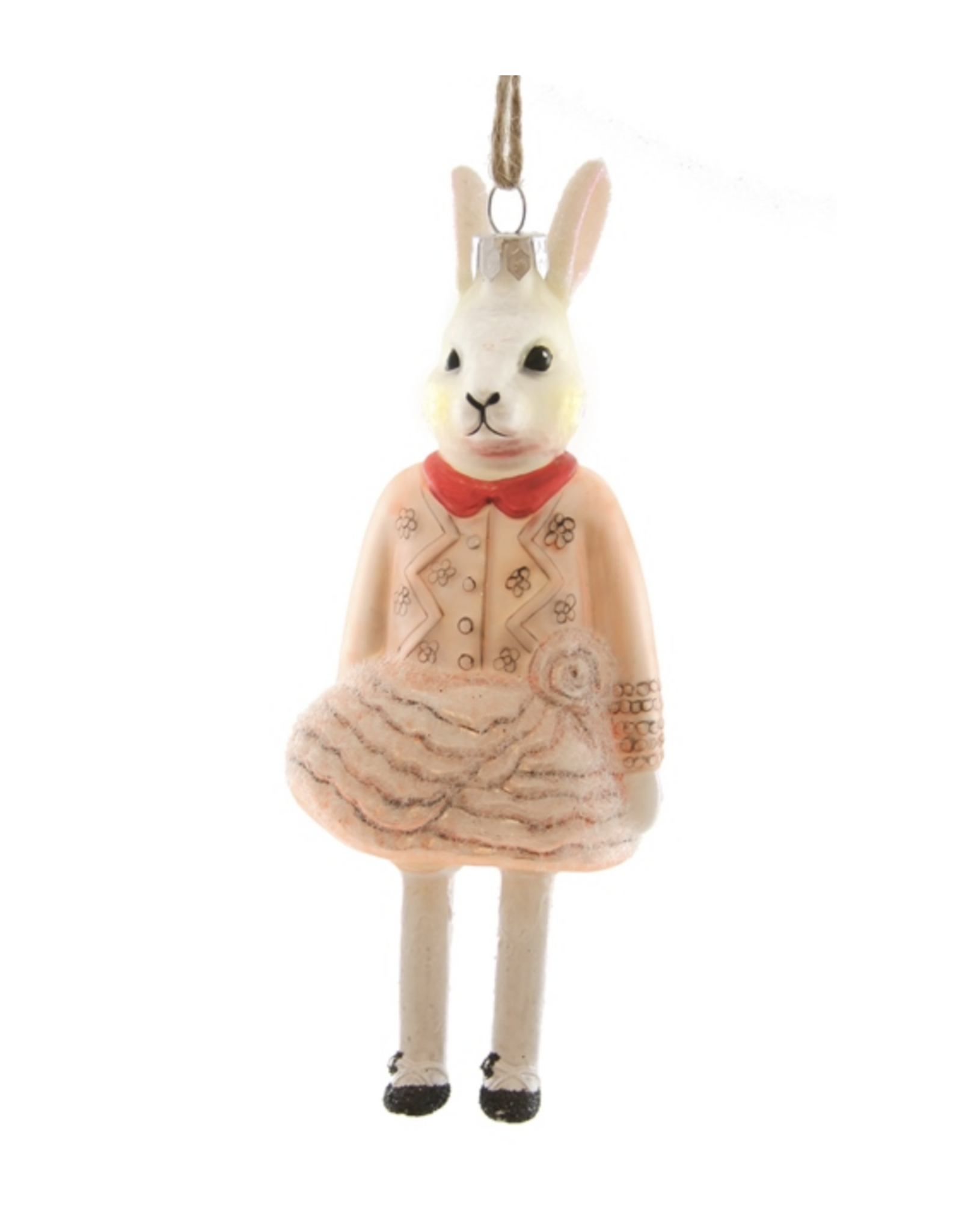 Winter Fete Rabbit Ornament