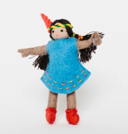 Young Native Princess Ornament