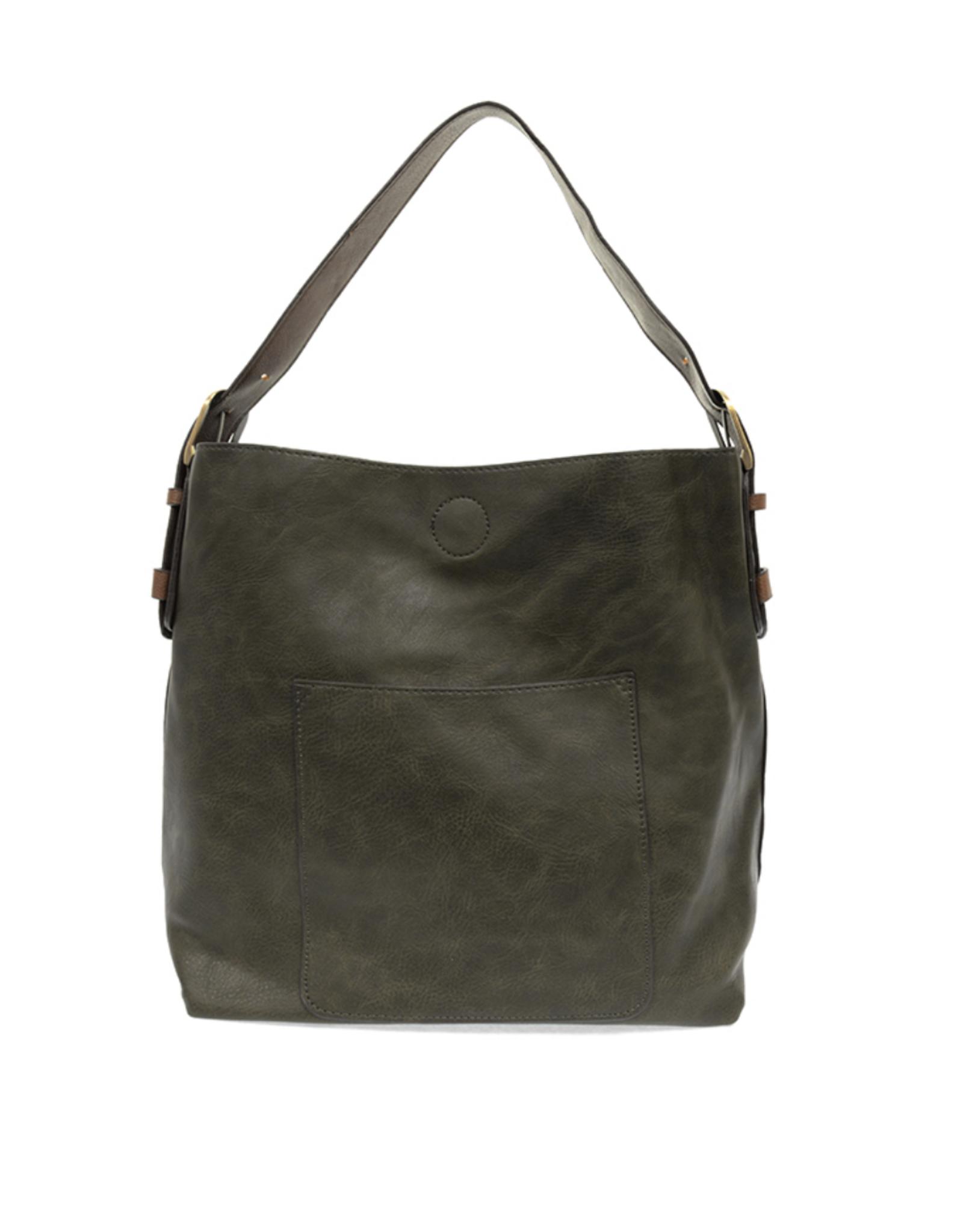 Classic Hobo Brown Handle Handbag  (3 colors!)