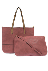Brushed 2-in-1 Tote (4 colors!)