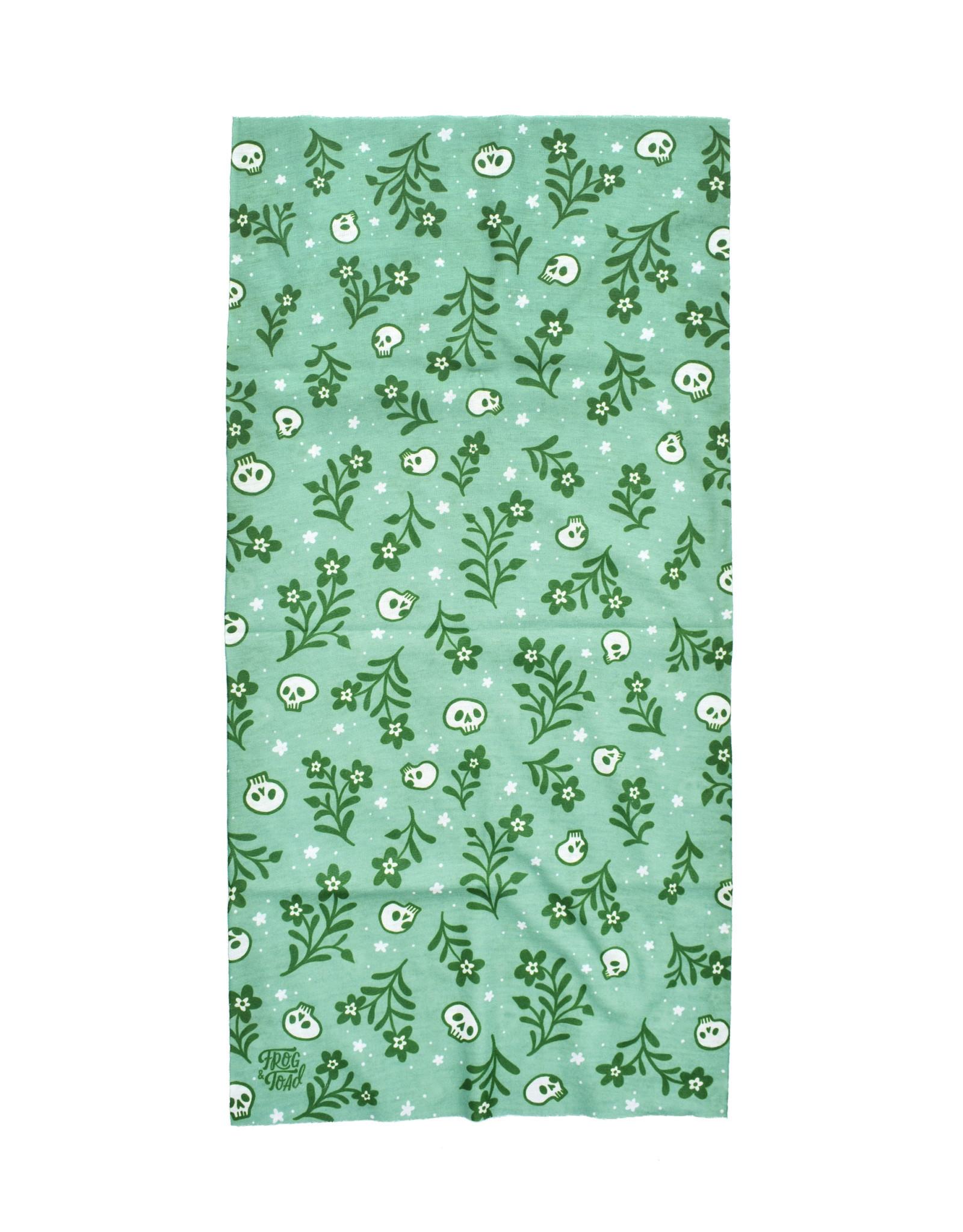 Frog & Toad Press Gaiter -  Floral Skulls