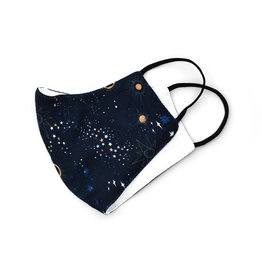 All Over Patterned Face Mask -  Galaxy