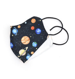 All Over Patterned Face Mask -  Space