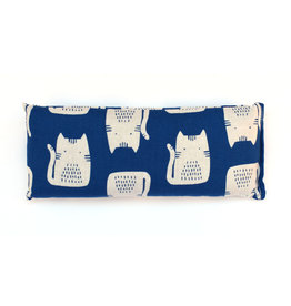 Lavender Eye Pillow :  Blue Cat
