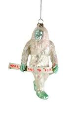 Holiday Yeti Ornament