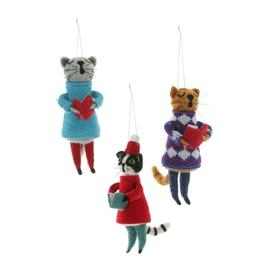 Choir Cat Ornament (3 Assorted)
