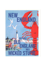 New England Old England Greeting Card