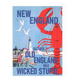 New England Old England Greeting Card