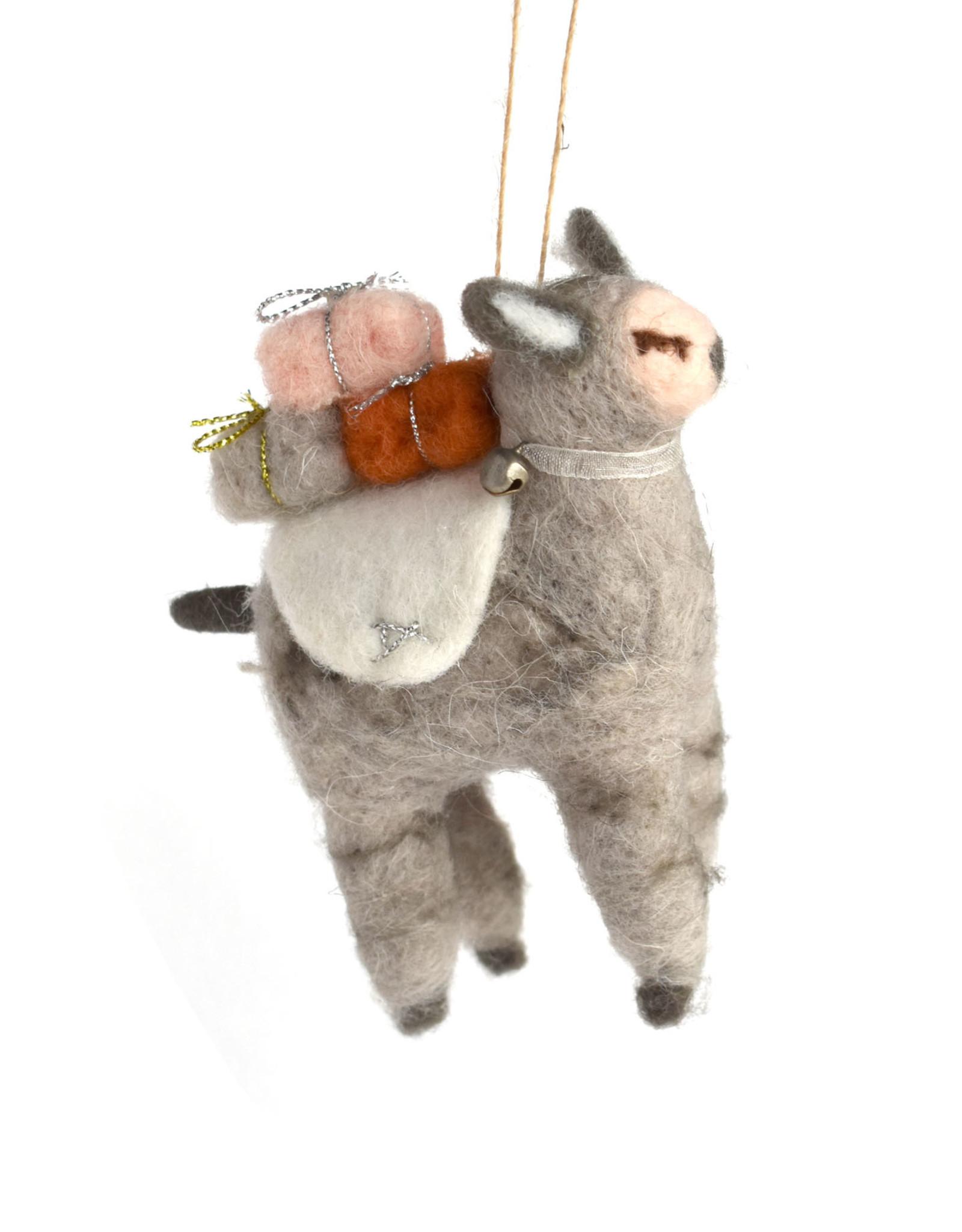 Glama Llama Ornament