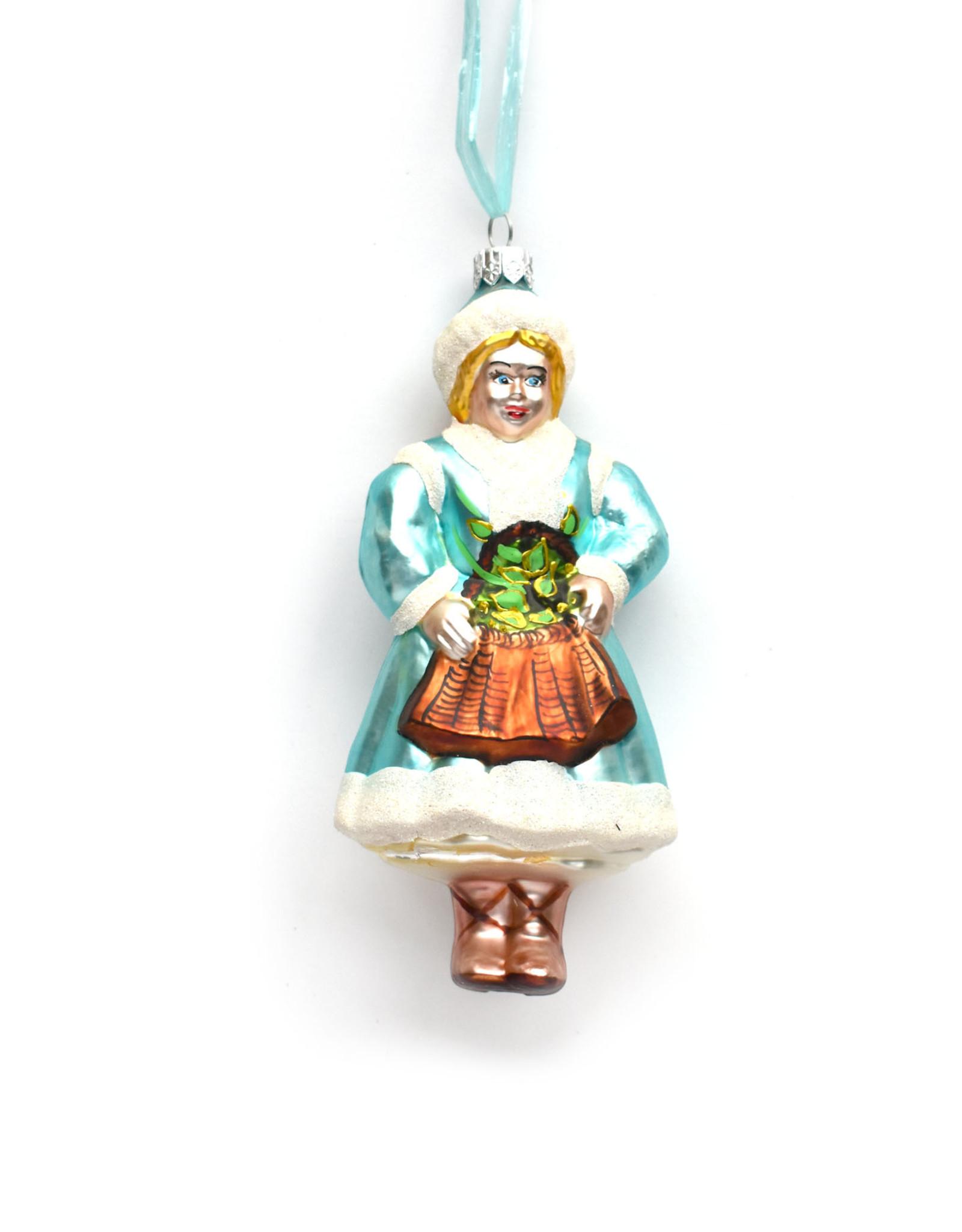 Snow Maiden Polish Ornament