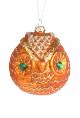 Sparkly Eyed Owl Ornament (2 Assorted)