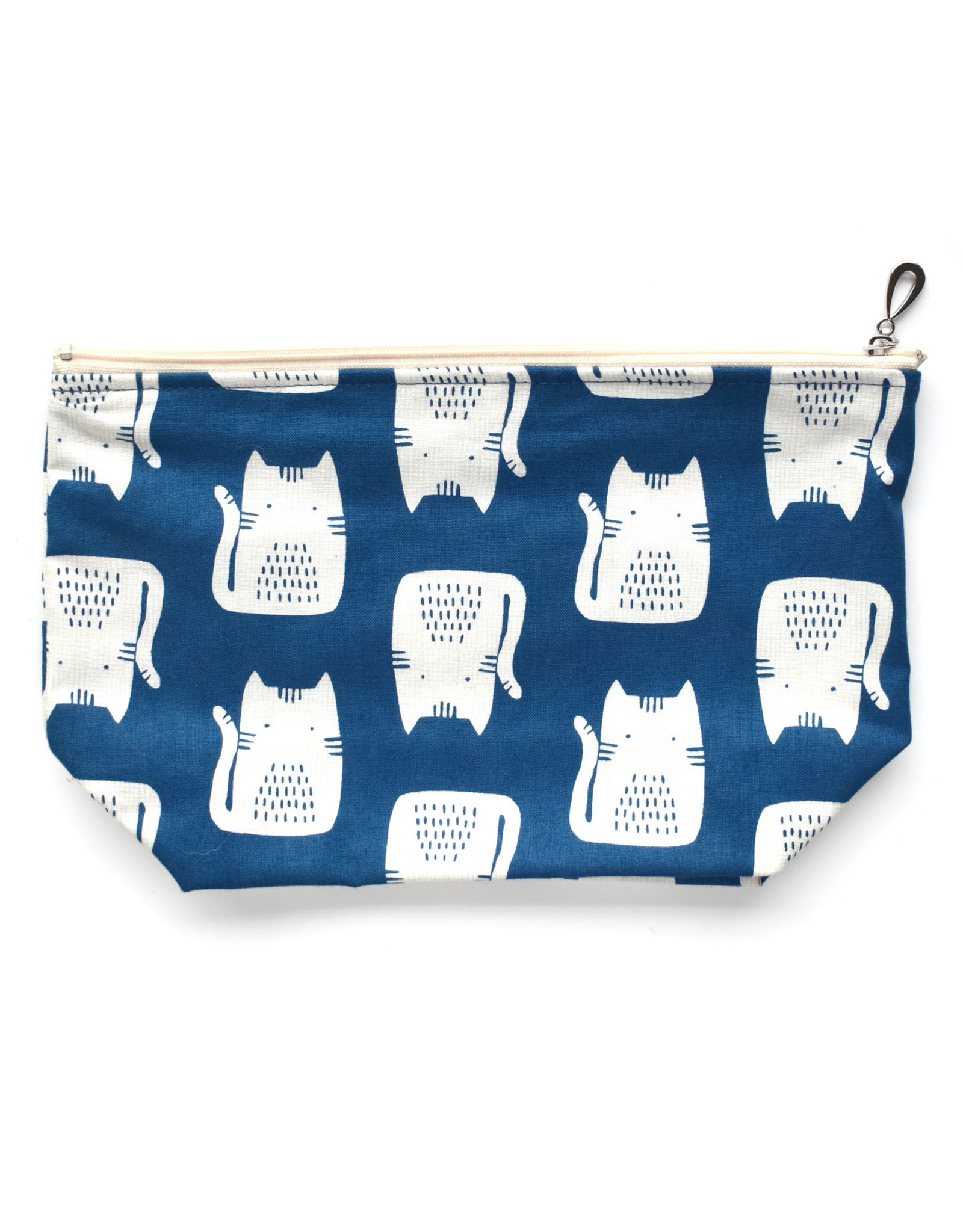Blue Cat Cosmetic Bag